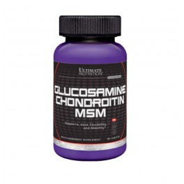 Ultimate Nutrition Glucosamine & CHONDROITIN, MSM - 90 таб