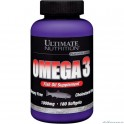 Ultimate Nutrition Omega 3 - 180 softgels NEW!