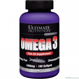 Ultimate Nutrition Omega 3 - 180 softgels