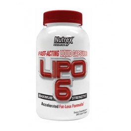 Nutrex Research Lipo-6 - 240 liqui-caps