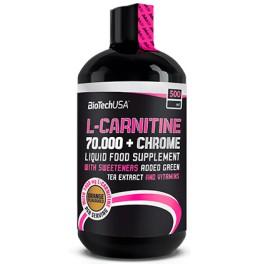 Biotech USA L-carnitine 70000 мг + Chrome Liquid - 500 мл