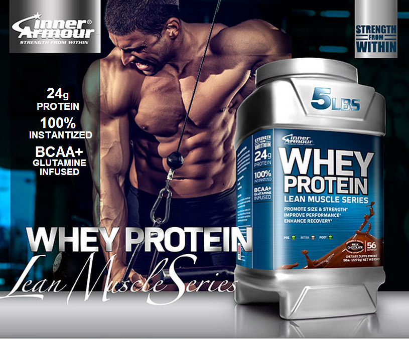 Inner Armour Blue Lean Muscle Protein Whey - 2,27 кг