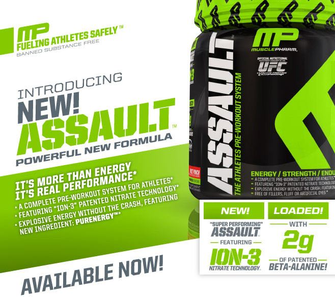 MusclePharm Assault - 20 порций