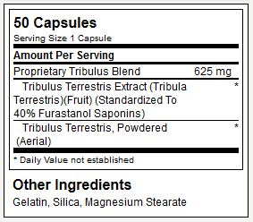 Optimum Nutrition Tribulus 625