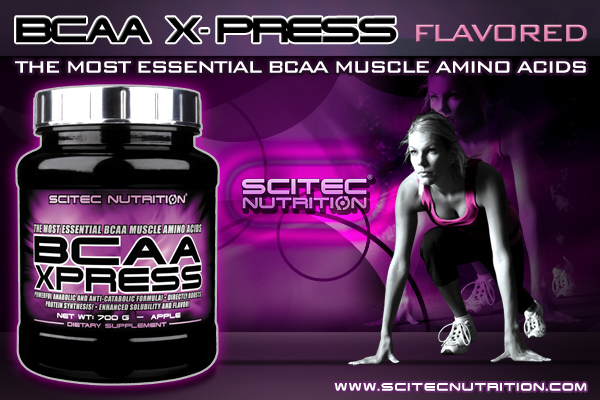 Scitec nutrition BCAA Xpress - 700 г